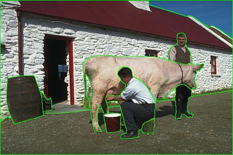 Berkeley Segmentation Dataset: Subject #1105 Images 121-130